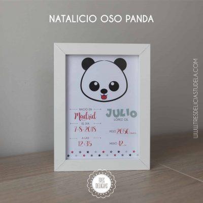 NATALICIO OSO PANDA