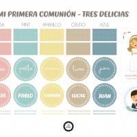 CATÁLOGO COLORES COMUNION